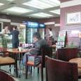 空港の喫茶店