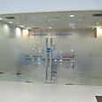 ヤンゴン空港喫煙室入口