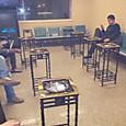 (中国)武漢空港の喫煙室